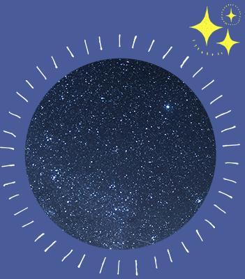 天の川に流れ星☆満天の星