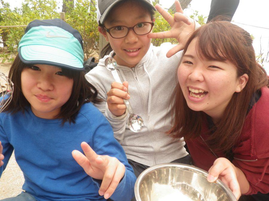 2018年5月6日予備日・体験会 クッキー作り&浜遊び
