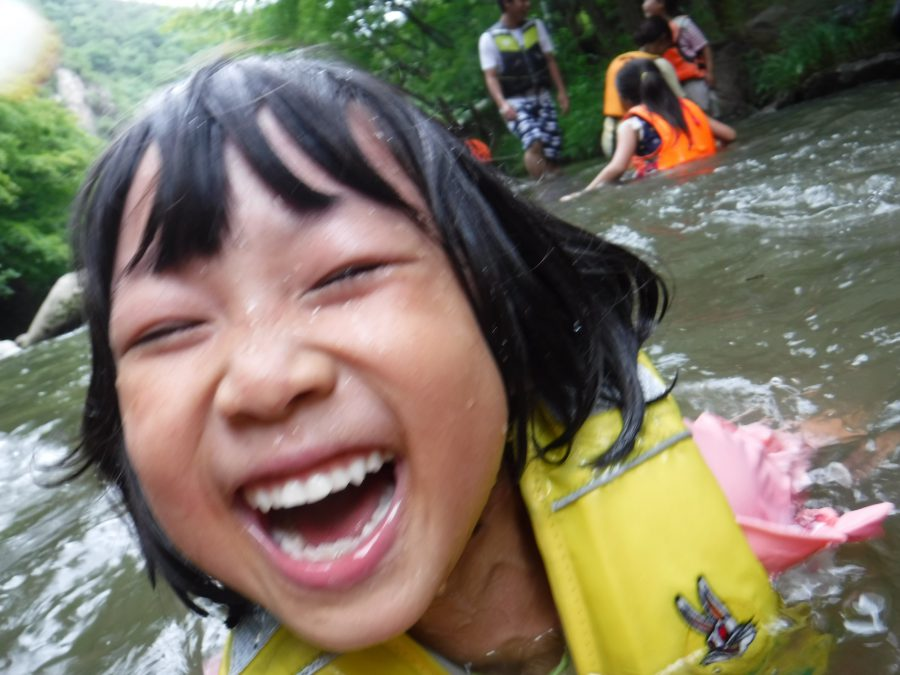 2018年7月:川遊び