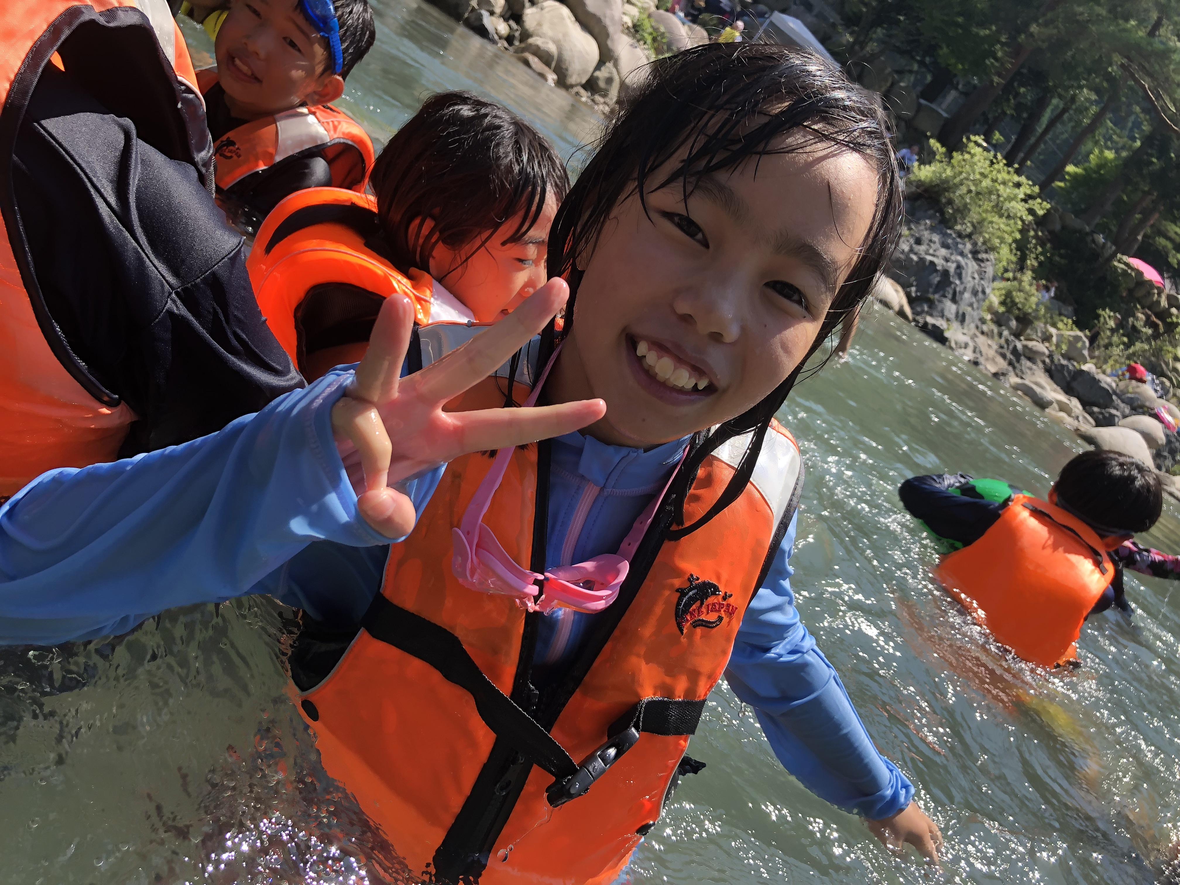 2018年07月:清流川遊び
