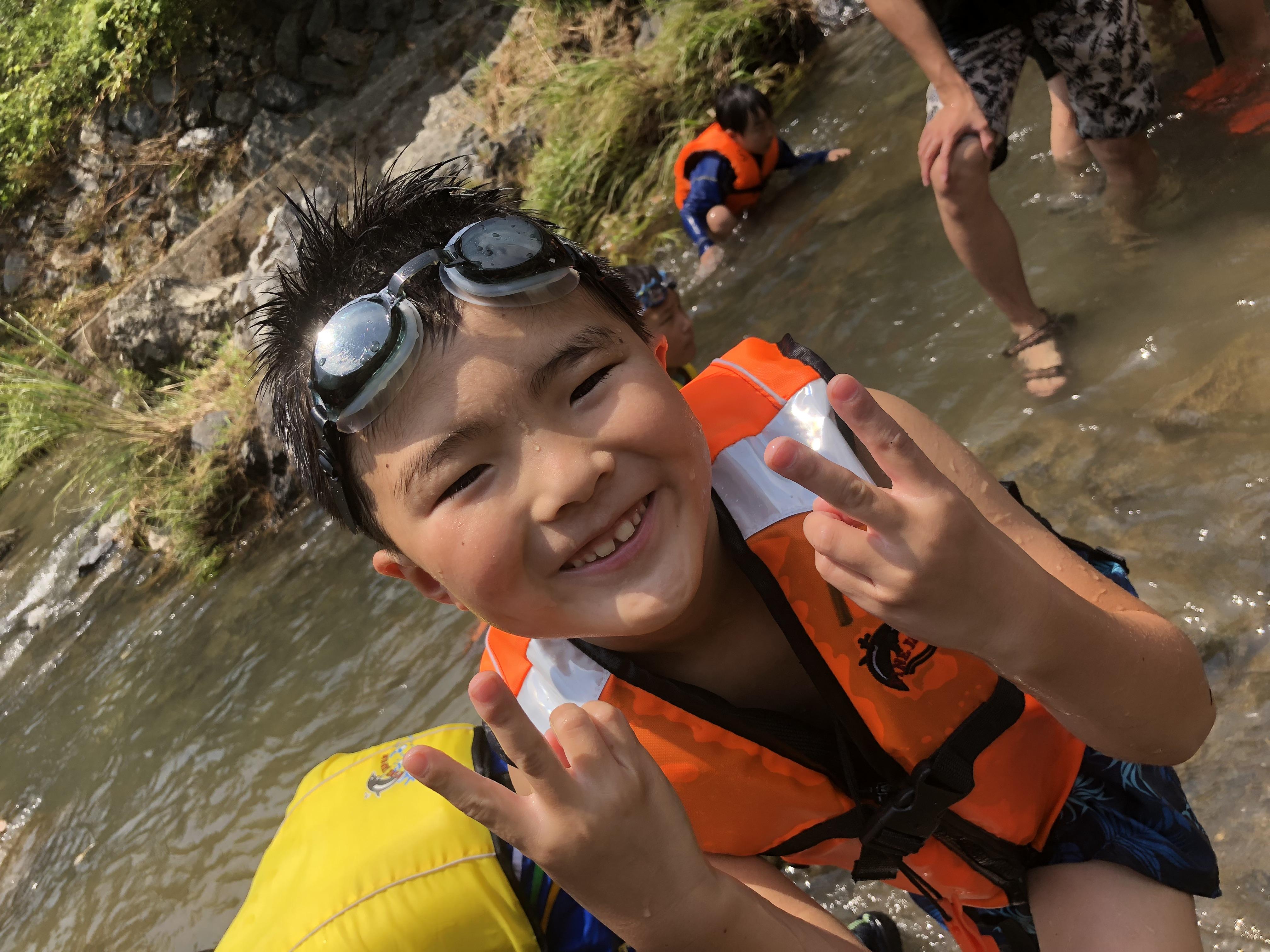 2018年07月予備日:おもいっきり川遊び