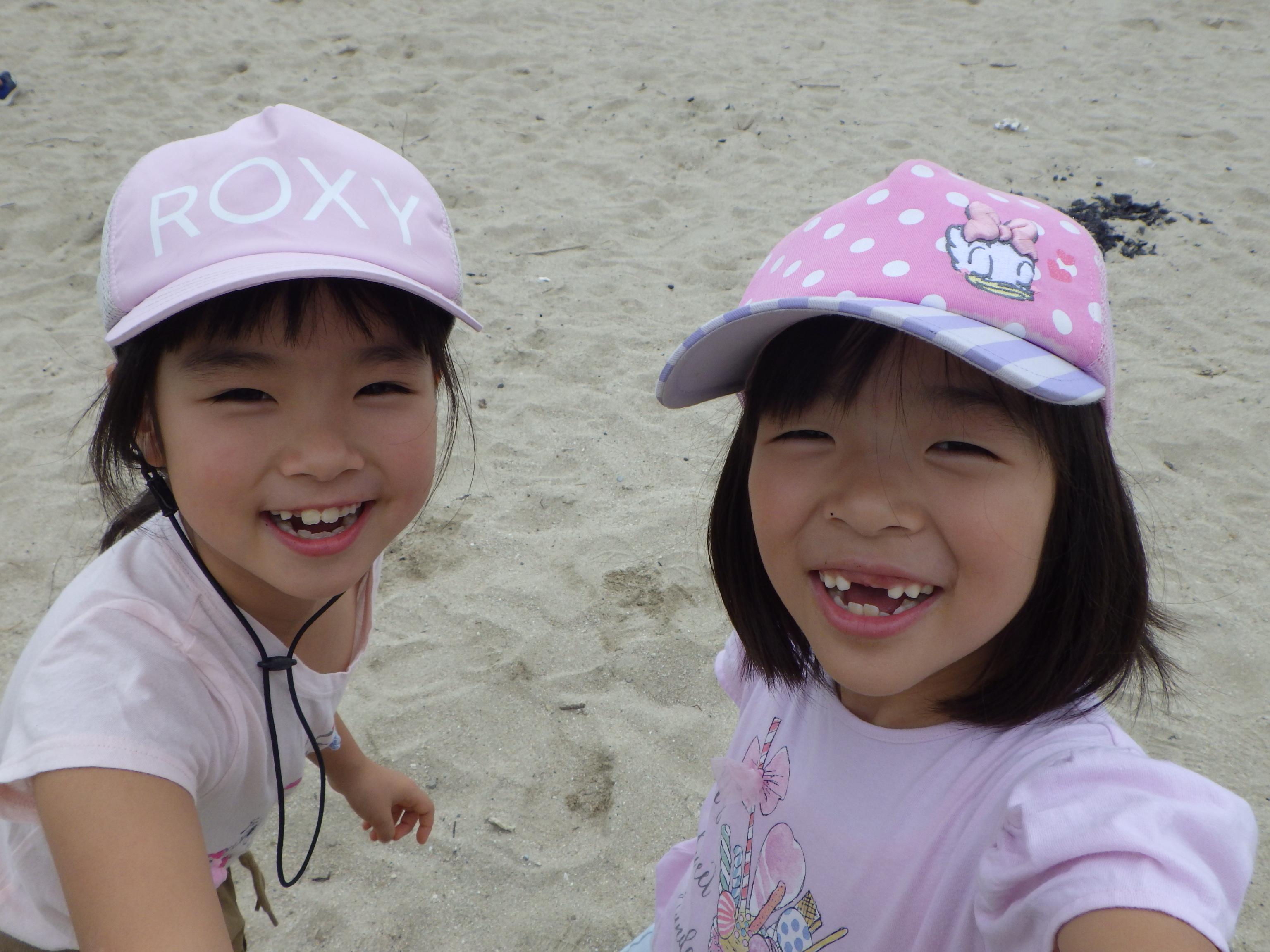 2018年9月:海遊び&浜遊び!