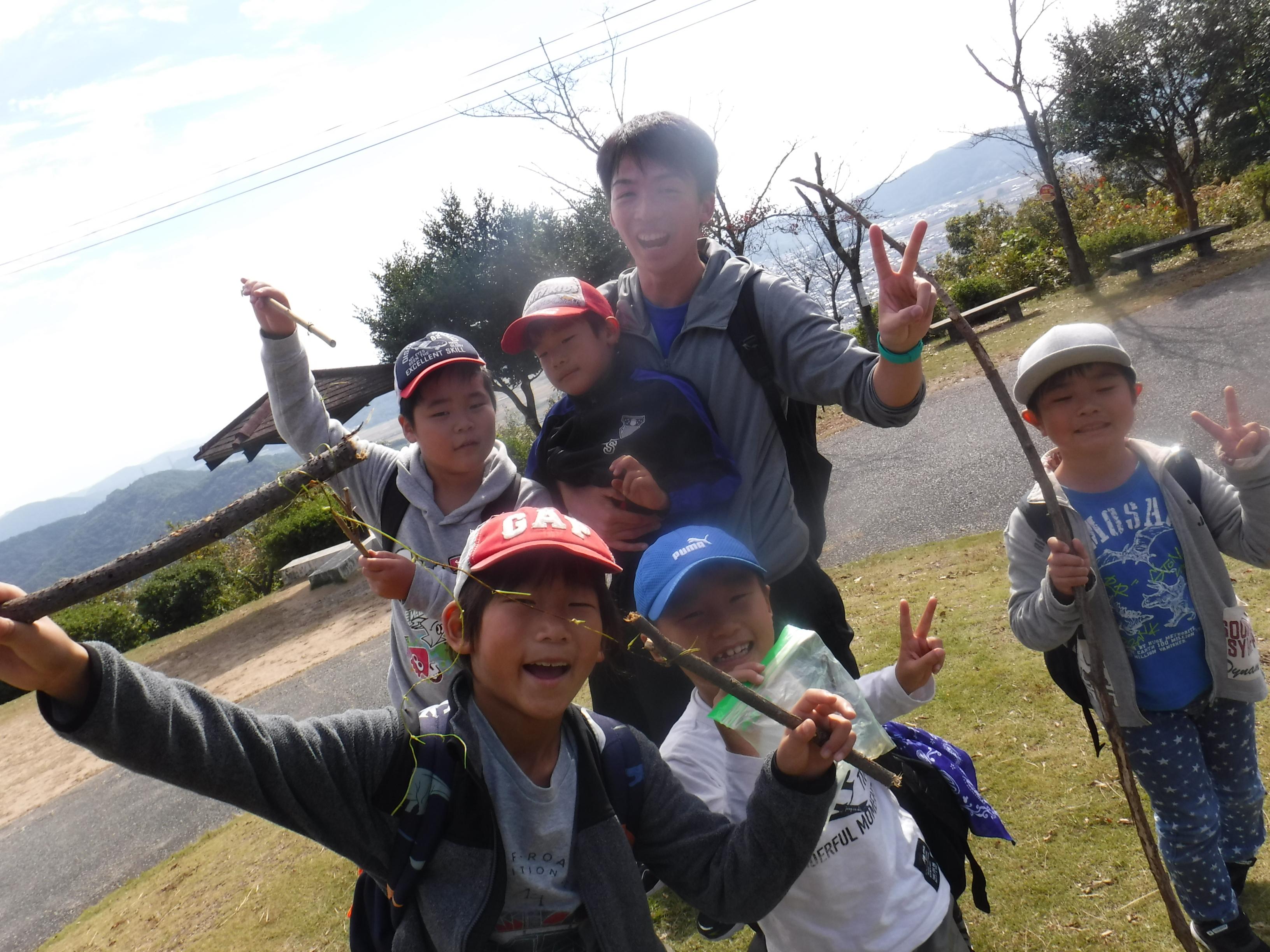 2018年11月:山探検に出かけよう!秋風オリエンテーリング!