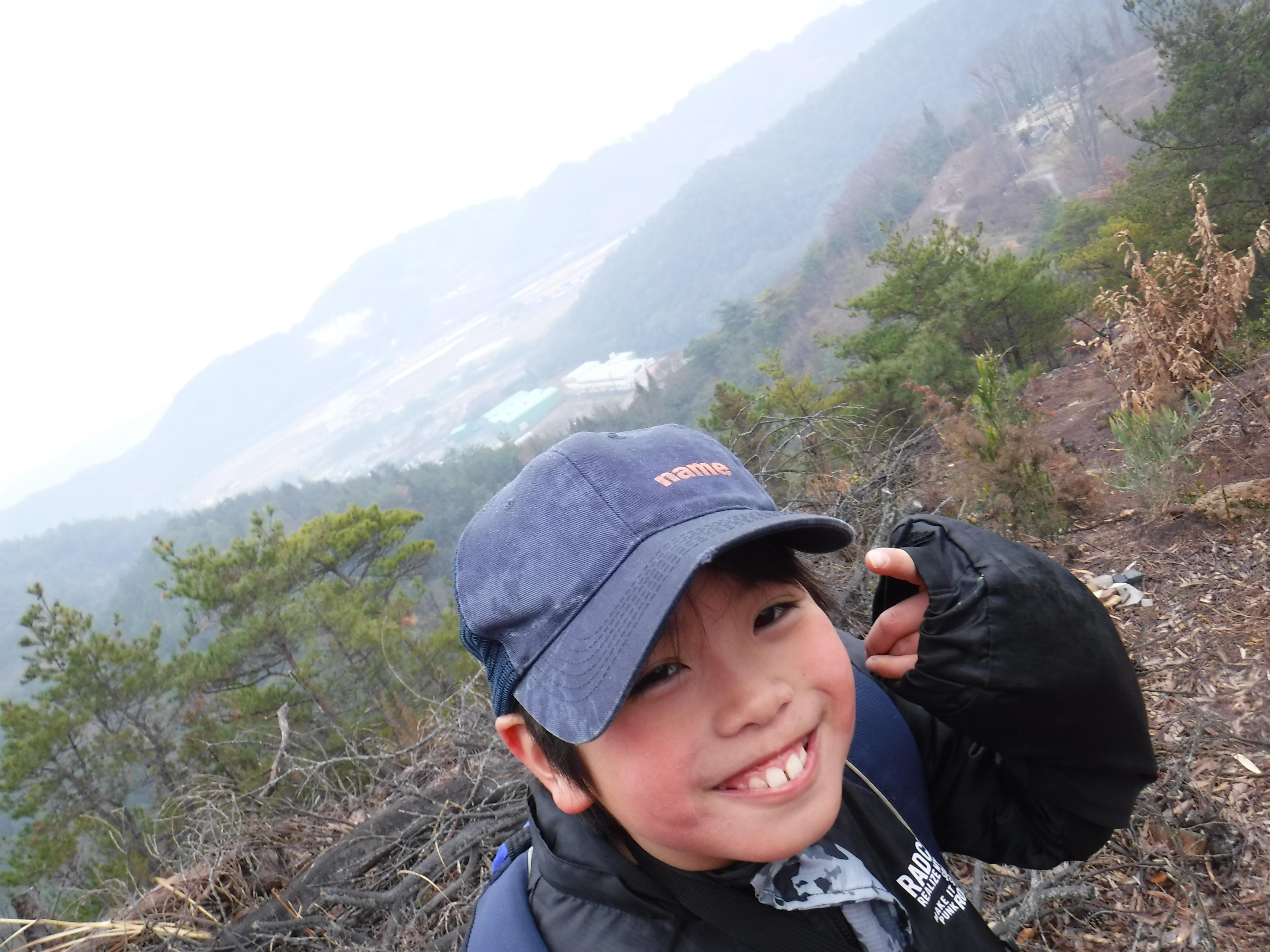 2019年2月:大平山~馬路山 北風!チャレンジ★山登り*
