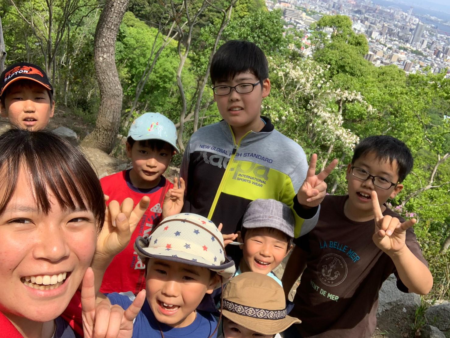 2019年5月予備日:ハイキングとフォトフレームづくり
