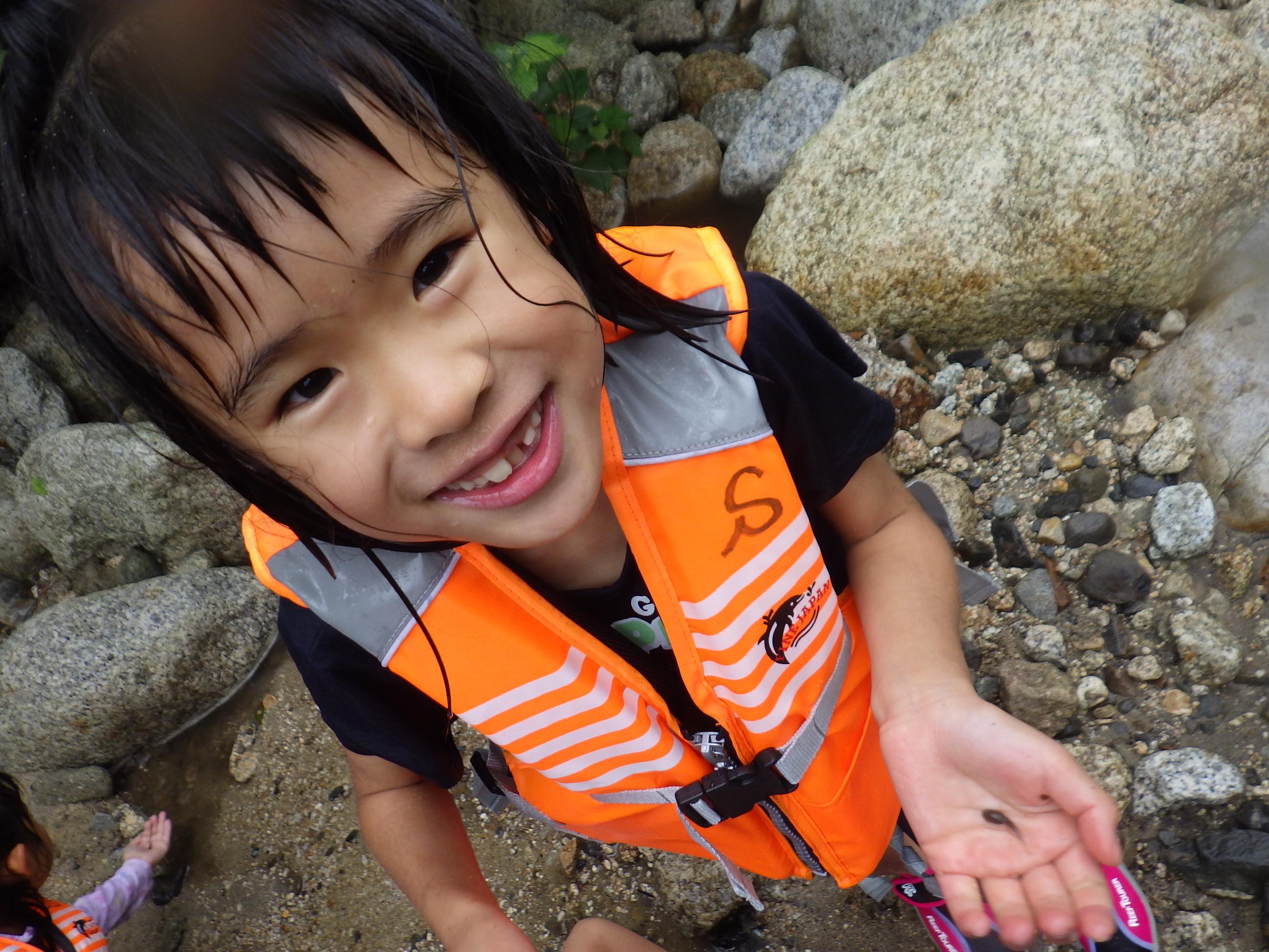 2019年7月:川遊び